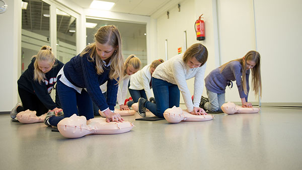 American Heart Association Trains Next Generation of Lifesavers with its CPR in Schools Program