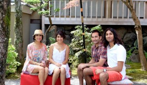 Meet the Jain Family: Ameeta, Shriya, Sukant, and Kyan