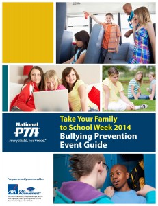 CoverPage from TYFTSW_Guide_BullyPrevention_FINAL