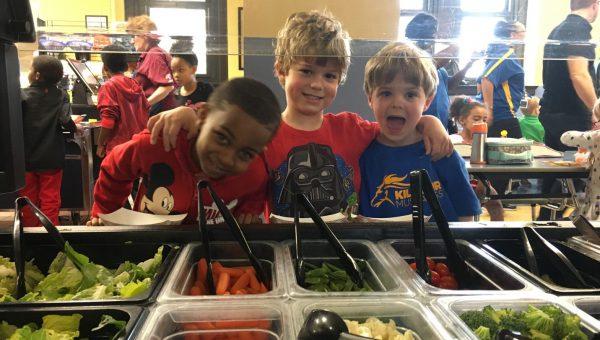 Kilgour Elementary: Healthy Food Zone