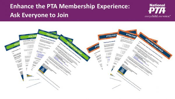 Enhance the PTA Membership Experience:  Ask Everyone to Join