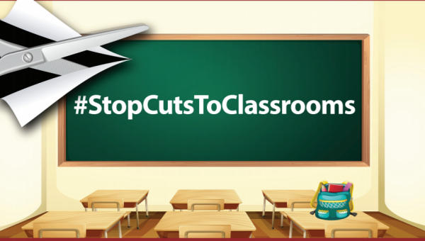 Tell Congress to #STOPCutsToClassrooms
